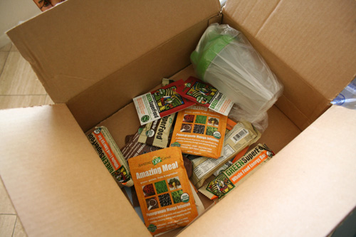 A package from Amazing Grass!