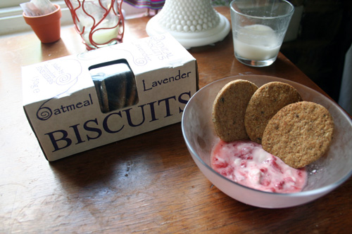 Oatmeal Lavender Biscuits