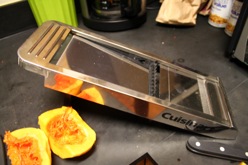 Dun dun dun... the mandolin slicer.