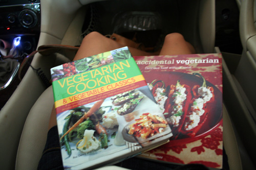I highly recommend the cookbook on the left! Both are great, but the one on the left is my favorite.